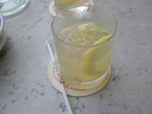 At Harry's in Florence, get the special caipirinha.